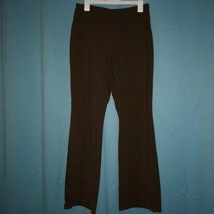 Jockey Casual Brown Yoga Pants